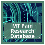 button to visit the MT Pain research database